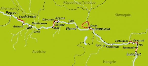 route vélo europe