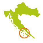 Le sud de la Dalmatie - Croatie 2020