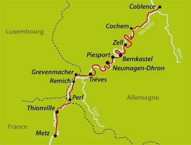 Velo En Liberte La Moselle De Metz A Coblence France Allemagne 2019 France Allemagne Luxembourg