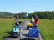 Les pistes cyclable de l'Altmühl, en Bavière - Allemagne 2018